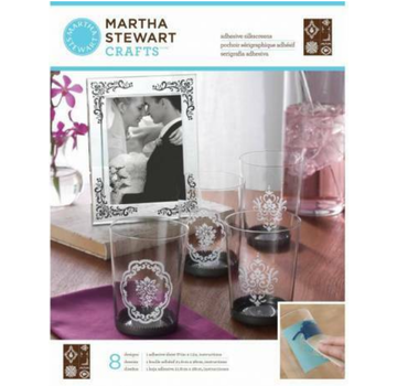 EK Succes, Martha Stewart Martha Stewart, klæbende silke skærme, 22 x 28 cm, 1 stk.