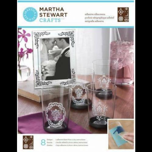 EK Succes, Martha Stewart Martha Stewart, Adhesive Silkscreens, 22 x 28 cm, 1 Stk.