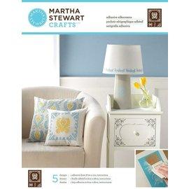 EK Succes, Martha Stewart Martha Stewart, Sérigraphies adhésives, 22 x 28 cm, 1 pcs