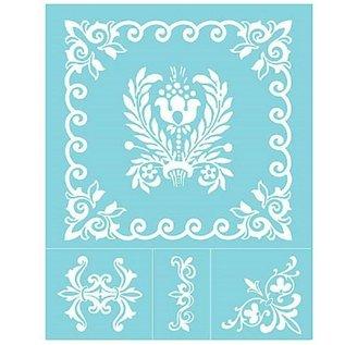 EK Succes, Martha Stewart Martha Stewart, zelfklevende zeefdrukken, 22 x 28 cm, 1 st