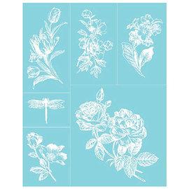 EK Succes, Martha Stewart Martha Stewart, Lim Silkscreen, 22 x 28 cm, 1 stk
