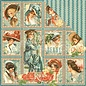 "GRAPHIC 45 Cards and scrapbooking paper, 30.5 x 30.5 cm, ""My Fair Lady"""
