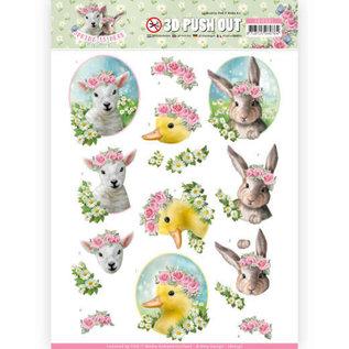 AMY DESIGN 3 diversi fogli A4 pre-tagliati: la primavera è qui