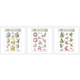 AMY DESIGN 3 different pre-cut A4 sheets: spring is here
