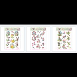 AMY DESIGN 3 forskellige præ-cut A4 ark: foråret er her