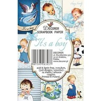 Cards and scrapbooking paper block, 7 x 10.8 cm, 150 gsm
