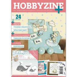 Bücher, Zeitschriften und CD / Magazines Magazin: Hobby Zine Plus-24 + Extra Stanzschablone und mit vielen Ideen, Bilder und Beispiele für das Kartendesign für verschiedene Anlässe.