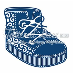 Tattered Lace cutting dies,  Baby Boy Boot
