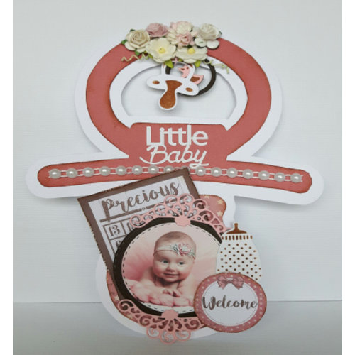 Dutch DooBaDoo Plastik Schablone: Thema Baby