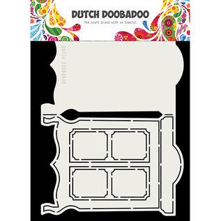 Dutch DooBaDoo Plantilla de plástico: Arte de la tarjeta