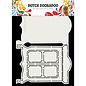 Dutch DooBaDoo Plastic sjabloon: kaart Art