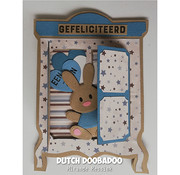 Dutch DooBaDoo Plastic Template: Card Art