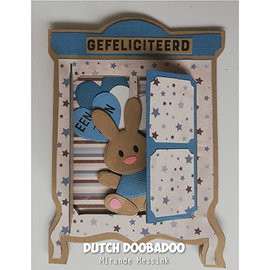 Dutch DooBaDoo Plastmal: Kort Art