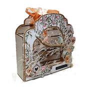 Dutch DooBaDoo Plast stencil: Fold Card kunstmærke Barok
