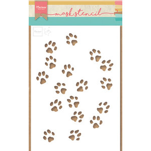 Marianne Design Plastic Mask Template: Cat Paws