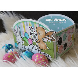 Dutch DooBaDoo Plast skabelon: Box Art Cookie bakke