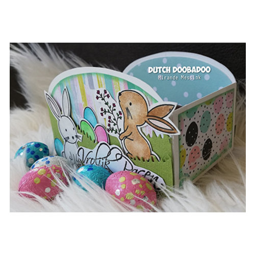 Dutch DooBaDoo Plastik Schablone: Box Art Cookie tray