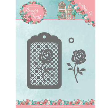 Yvonne Creations cutting dies,  Rose Label