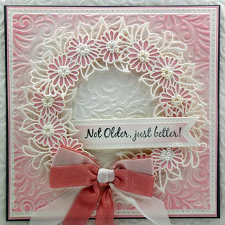 CREATIVE EXPRESSIONS und COUTURE CREATIONS Cutting and embossing template: Daisy Cluster