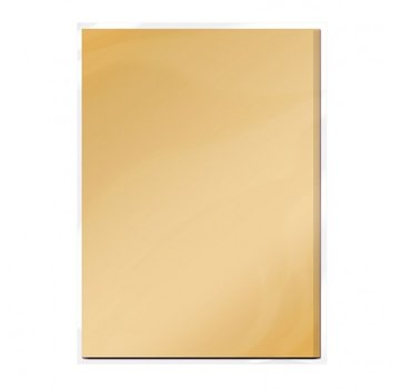 Tonic Studio´s Karton, A4, in Satin gold, 5 Blatt