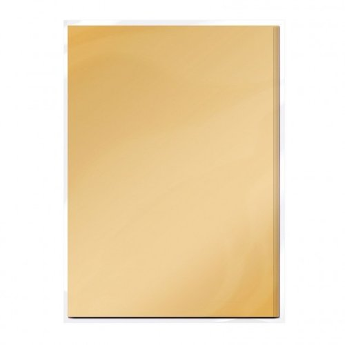 Tonic Studio´s Cardboard, A4, in satin gold, 5 sheets