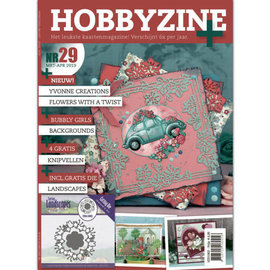 Bücher, Zeitschriften und CD / Magazines Magazine: Hobby Zine Plus-29 + Extra punching template and with many ideas, pictures and examples of card design for different occasions.