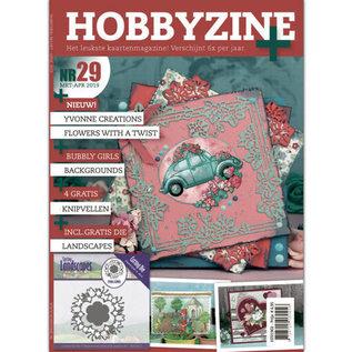 Bücher, Zeitschriften und CD / Magazines Magazine: Hobby Zine Plus-29 + Extra stansmal en met veel ideeën, afbeeldingen en voorbeelden van kaartontwerp voor verschillende gelegenheden.