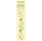 Leane Creatief - Lea'bilities und By Lene Embossing folder, border: wedding