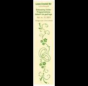 Leane Creatief - Lea'bilities und By Lene Embossing mappe, border: bryllup
