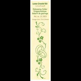 Leane Creatief - Lea'bilities und By Lene Dossier de gaufrage, bordure: mariage