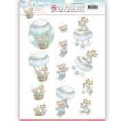 AMY DESIGN 1 foglio A4 pre-tagliato: baby