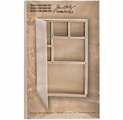 Tim Holtz Tim Holtz, book album with individual subjects for decorating