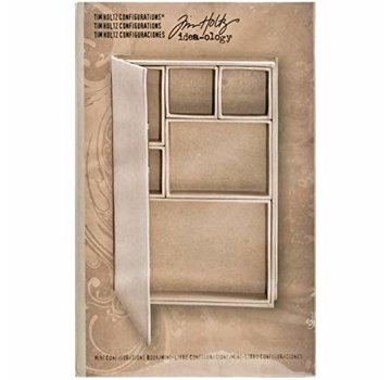 Tim Holtz Tim Holtz, album di libri con soggetti individuali per la decorazione