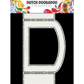Dutch DooBaDoo Hollandsk Doobadoo, Fold Card kunst ovalt