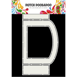 Dutch DooBaDoo Doobadoo hollandais, carte de pli ovale