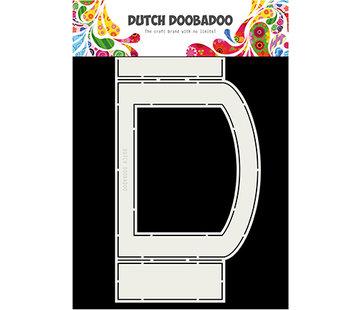 Dutch DooBaDoo Doobadoo hollandais, carte de pli ovale