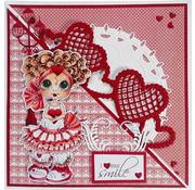 Joy!Crafts / Jeanine´s Art, Hobby Solutions Dies /  Joy Crafts grænsen til hjerte