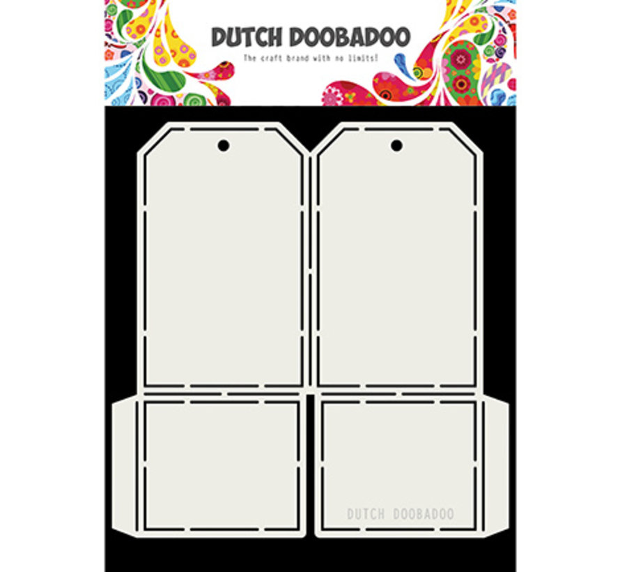 Dutch Doobadoo, Fold Card art Label