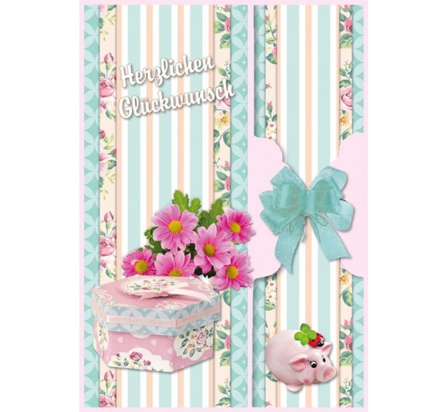 Birthday card set and other occasions, for 8 cards!