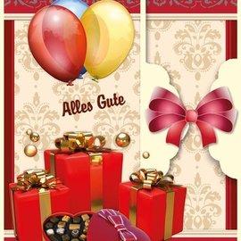 BASTELSETS / CRAFT KITS Set de tarjetas de cumpleaños y otras ocasiones, por 8 tarjetas!