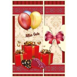 BASTELSETS / CRAFT KITS Verjaardagskaart set en andere gelegenheden, voor 8 kaarten!