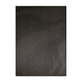 Tonic Cardboard, A4, in pearlescent black, 5 sheets