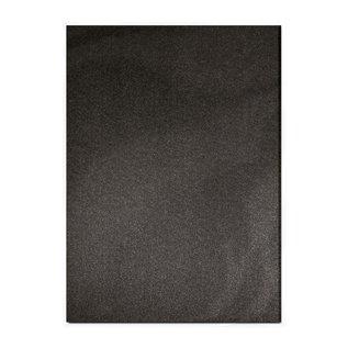 Tonic Carton, A4, en noir nacré, 5 feuilles