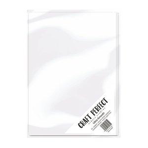 Tonic Studio´s Papir, A4, 240g ultra glat kort, hvidt, 5 ark