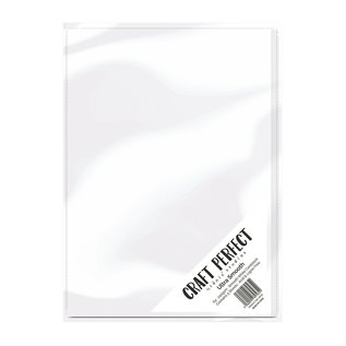 Tonic Studio´s Cardboard, A4, 240g ultra smooth card, white, 5 sheets