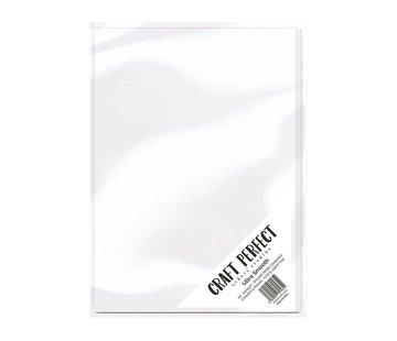 Tonic Studio´s Carton, A4, carte ultra lisse 240g, blanc, 5 feuilles