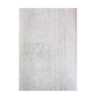 Tonic carton gaufré de luxe, 230g, en argent, 5 feuilles