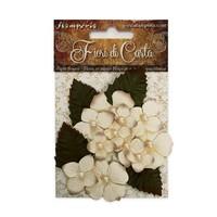 Udsmykninger: Blomster, disse blomster giver alle dine papirhåndværksprojekter det perfekte tryk!