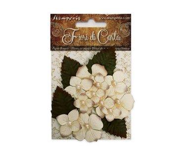 Stamperia Embellissements: Fleurs, ces fleurs donnent la touche parfaite à tous vos projets d'artisanat en papier!