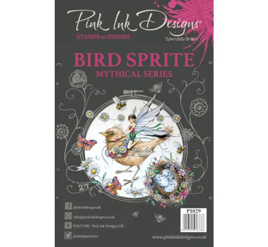 Timbre, A5, oiseau magnifique comme par magie!